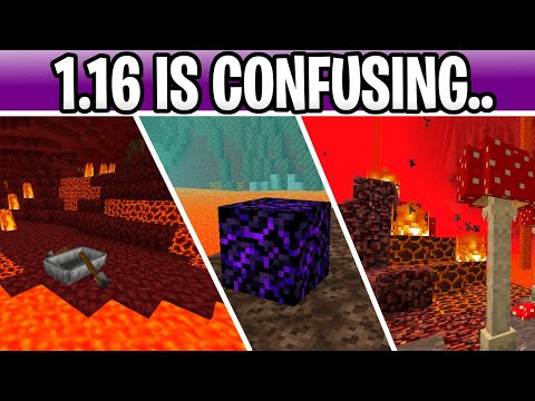 Minecraft 1.16 IS CONFUSING! Nether Boat, Crying Obsidian & More Biomes? (Nether Update)