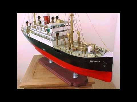 The ArchieLuxury Channel - Scratch Built Ship Model - The British Registered Vessel The Elelphant