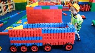 LEGO ГОРОДОК! Играй с нами!Встреча с фиксиками!LEGO CITY! Play with us!