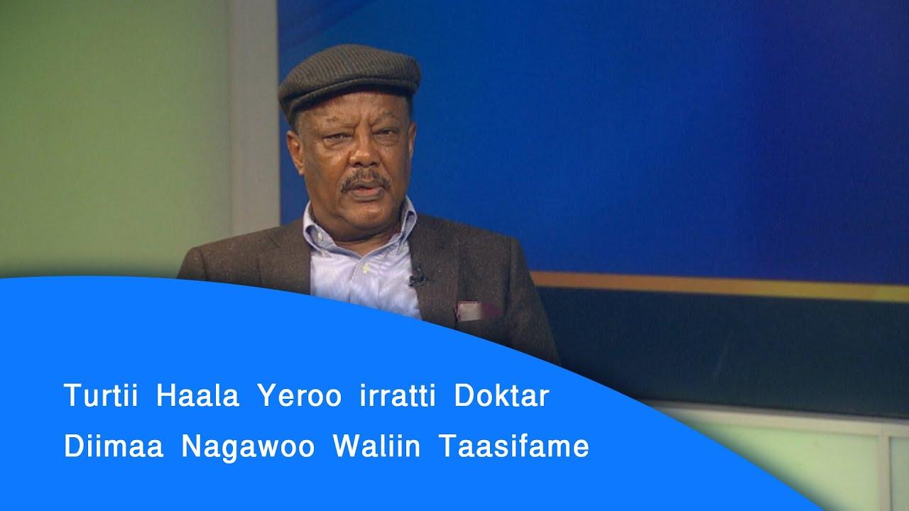 Turtii Haala Yeroo irratti Doktar Diimaa Nagawoo Waliin Taasifame|etv