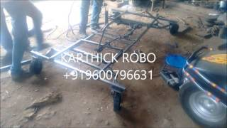 ZERO 360 DEGREE TURNING VEHICLE SYSTEM mechanical engineering project topics