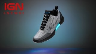 Nike Reveals Auto-Lacing Shoes You'll Actually Be Able to Buy - IGN News