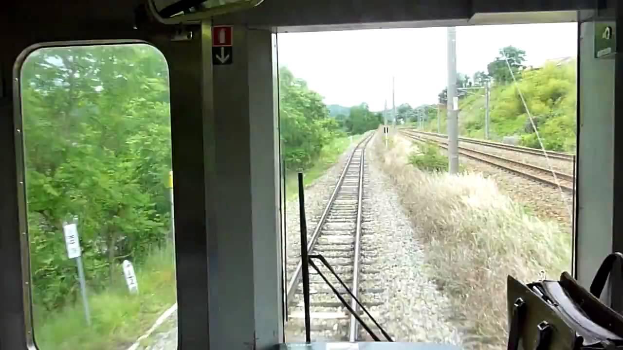 JR小海線 三岡-小諸 前面展望 - YouTube