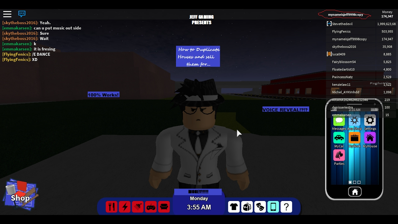 Roblox Rocitizens: How to duplicate houses, and sell them ...