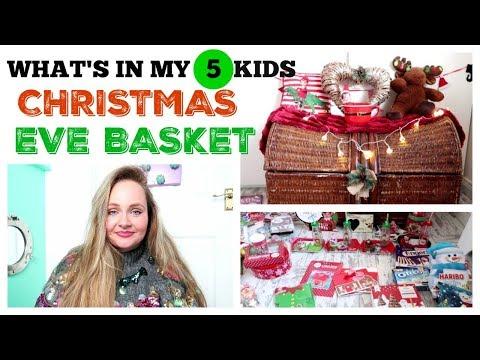 CHRISTMAS EVE BASKET 2018 / BUDGET XMAS EVE BOX IDEAS / Home Bargains, Poundland