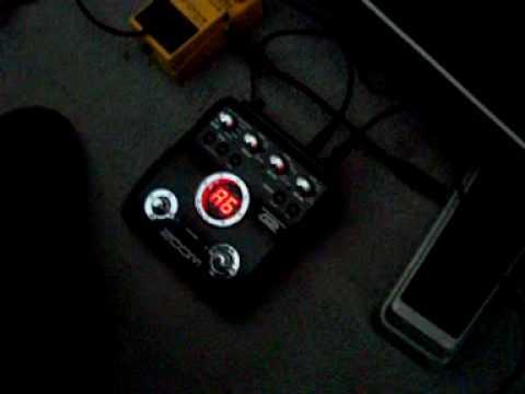 zoom g2 guitar pedal demo youtube. Black Bedroom Furniture Sets. Home Design Ideas