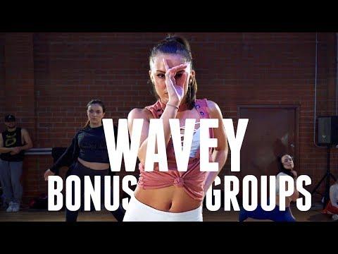 Wavey Bonus Groups - CliQ feat Alika   Brian Friedman Choreography   #TMillyTV