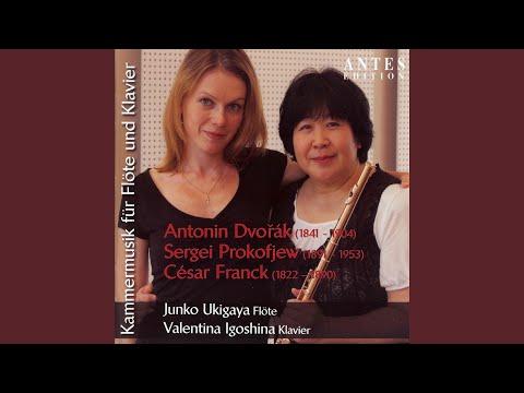 Sonate für Flöte und Klavier in D Major, Op. 94: III. Andante