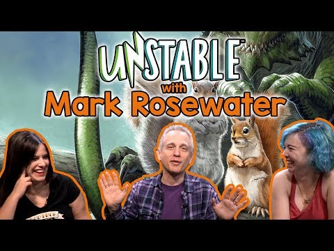 Unstable Interview w/ Mark Rosewater - Head Designer of Magic the Gathering (MtG) | NEW set!