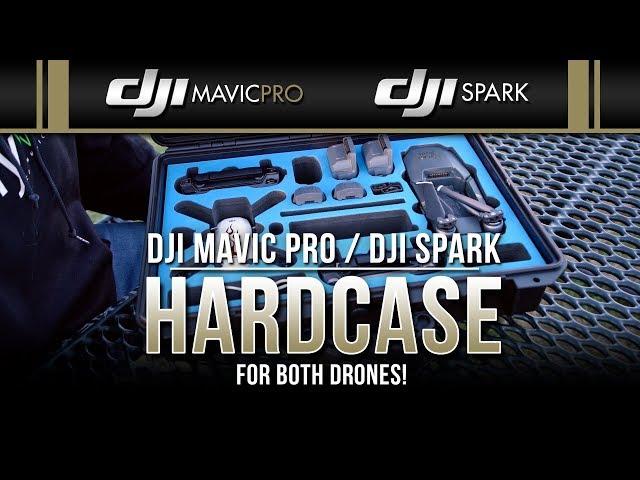 DJI Mavic Pro & DJI Spark / Combo Hard Case (Showcase)