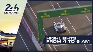 2019 24 Heures du Mans - HIGHLIGHTS from 4AM -6AM (GMT)