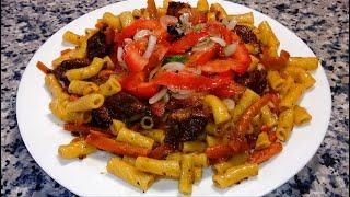 ПЛОВ из макарон по-узбекски 🌟 ЗИРВАК с макаронами 🌟 НУ ОЧЕНЬ ВКУСНО!!!! 🌟 Pilaf of pasta in Uzbek