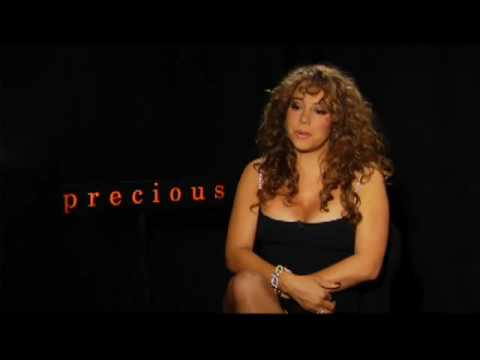 Mariah Carey talking about her new movie Precious 2009