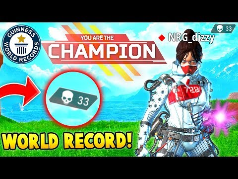 APEX LEGENDS: WORLD RECORD SOLO KILLS 33! (Epic & Funny Moments #3)