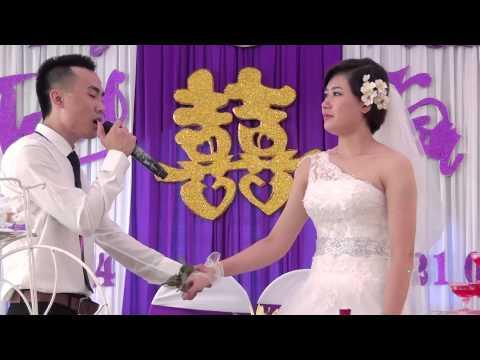 Chú rể hát tặng cô dâu - cực kỳ cảm động - Video HD