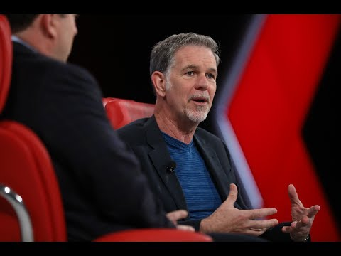 Full : Reed Hastings, founder and CEO of Netflix  Code 2017