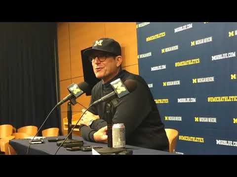 Jim Harbaugh post PSU