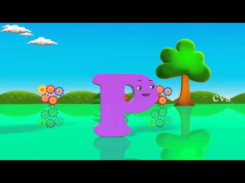 English Alphabet for kids ( ABCD Song) - 3D Animation rhyme Fun.mp4