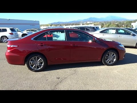 2016 Toyota Camry Northern California Redding Sacramento Red Bluff Chico Ca Gu534409
