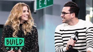 "Eugene Levy, Dan Levy, Catherine O'Hara And Annie Murphy Discuss Their Show, ""Schitt's Creek"" thumbnail"