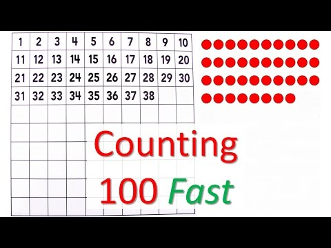 Counting to 100 fast - number board - Sanger Academy
