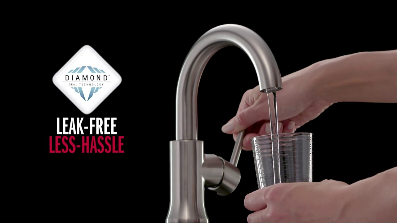 Delta Faucet Trinsic One Handle High-Arc Bathroom Faucet - YouTube