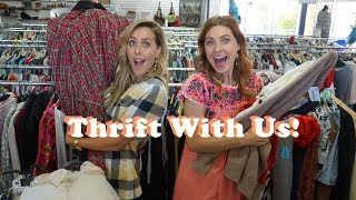 Thrift with Us Feat. BJONESSTYLE IRL | 60s 70s 80s Vintage Outfit Lookbook | Tiny Acorn