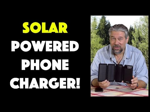 MyCharge PowerFold 8000 Solar Charger - Review