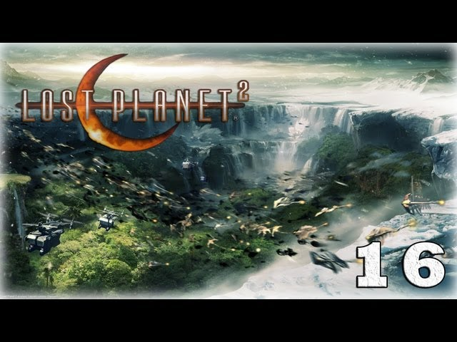 Смотреть прохождение игры [Coop] Lost Planet 2. Серия 16 - Ультра-акрид. [ФИНАЛ]