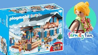Playmobil • Górska chata 9280 • nowy domek