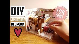 DIY Miniature Bedroom Kit for Twins (David and Daniel) #5
