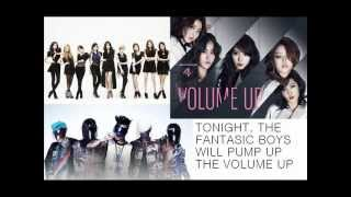 TONIGHT, THE FANTASTIC BOYS WILL PUMP UP THE VOLUME UP (MASH UP) Thumbnail