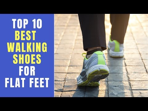 Top 10 Best Walking Shoes For Flat Feet 2020 ✅ Shoe Collection