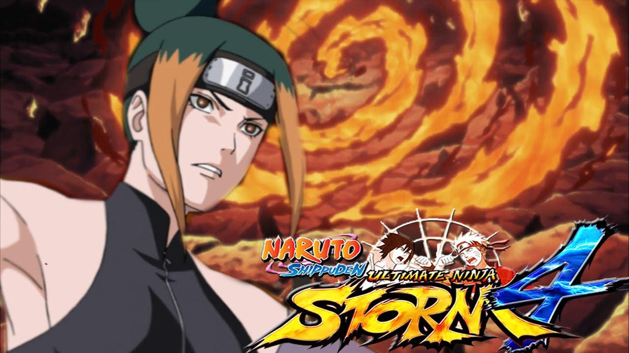 THE EXPLOSIVENESS OF SCORCH RELEASE! - Naruto Shippuden: Ultimate Ninja  Storm 4 Pakura Mod