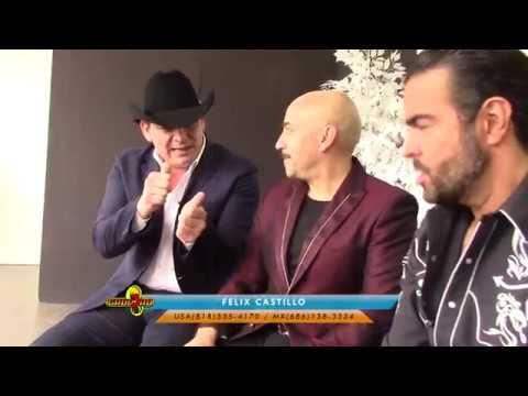 THE REBELDES (Jose Manuel Figueroa, Lupillo Rivera y Pablo Montero) Exclusiva por Felix Castillo