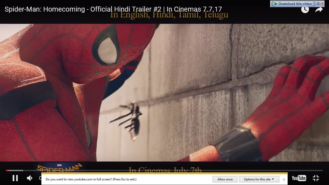 spider-man: homecoming full movie in hindi free download hd - youtube