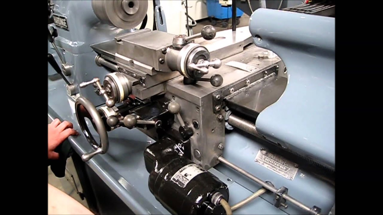 Hardinge Hlv-h Precision Toolroom Lathe Under Power  U0026 For Sale