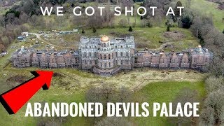 Abandoned Devils Palace - We Got Shot At (Urbex)