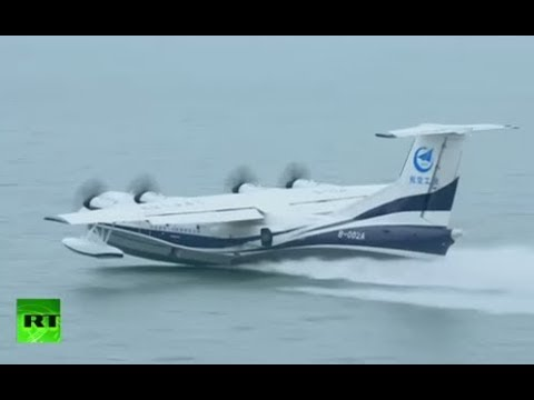 kudos-to-kunlong-world-s-largest-amphibious-aircraft-ag600-completes-first-water-takeoff-in-china