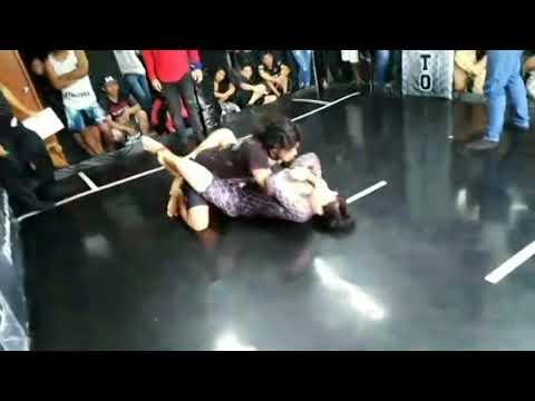 Bryans Toledo vs Emilio Medina ( Semi Final: Catg: Noveles 85kg)