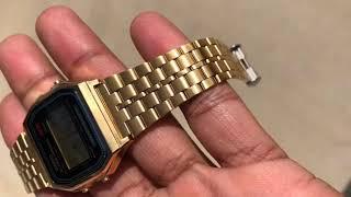 Vintage Casio A159WGEA Watch