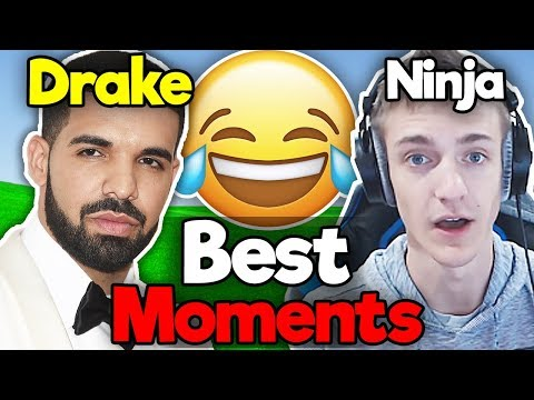BEST NINJA AND DRAKE DUO MOMENTS!! - Best Fortnite Moments #10