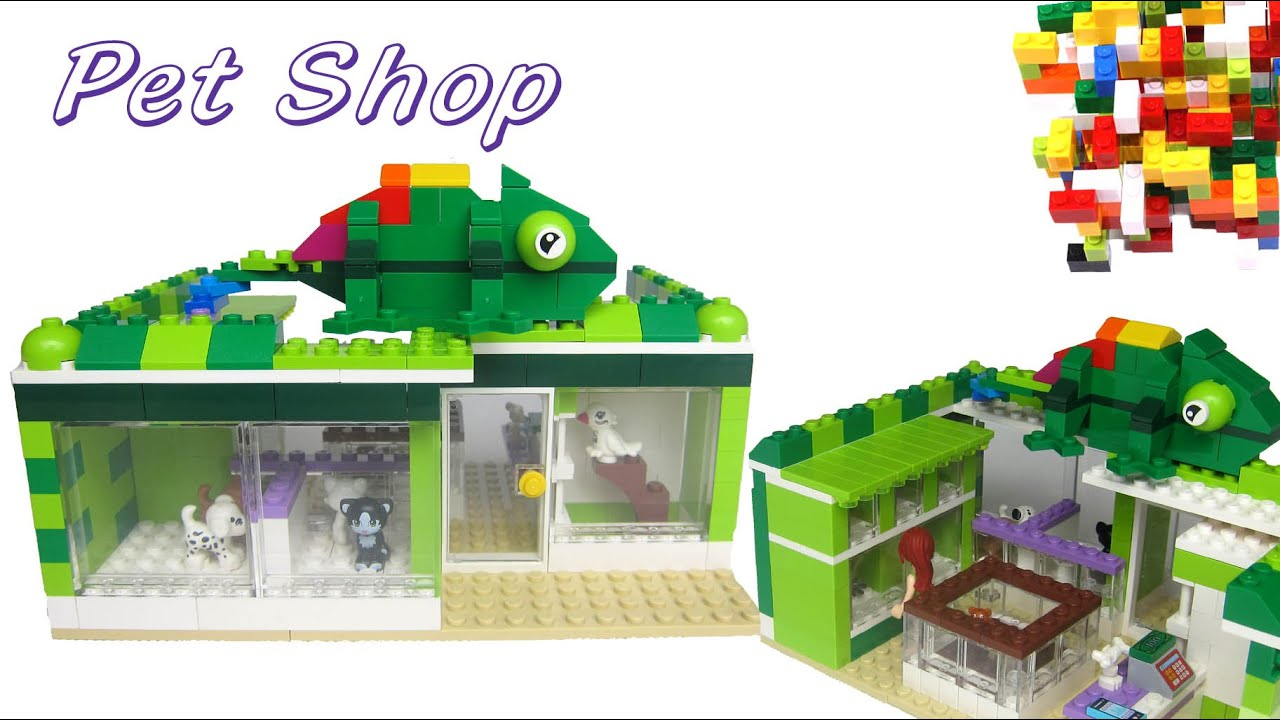 Lego Friends Pet Shop By Misty Brick.