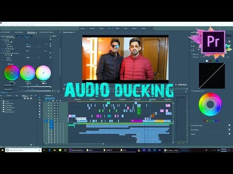 Audio Ducking || Match Dialogues and Music || Premiere Pro CC || Tutorial thumbnail