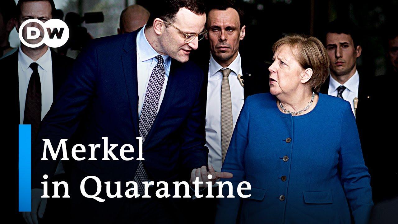 Coronavirus: German Chancellor Merkel self-quarantines, announces further restrictions   DW News