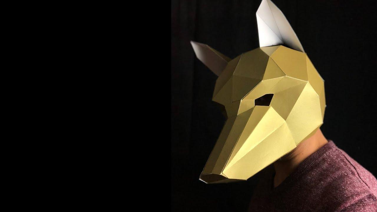 Wintercroft Fox Mask Timelapse Build