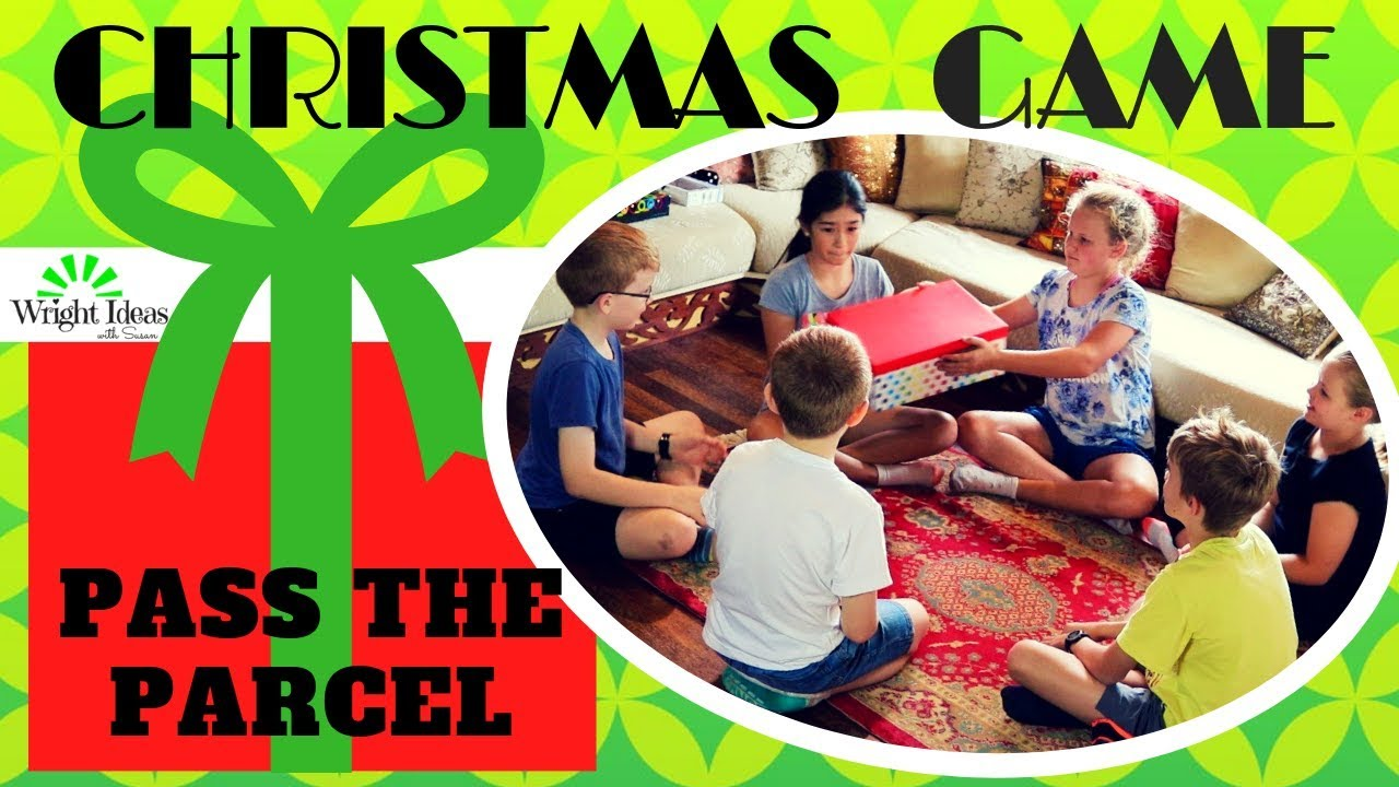 CHRISTMAS \'PASS THE PARCEL\' GAME for families, Sunday school, kids ...