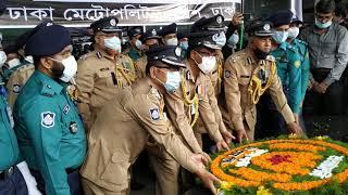 বঙ্গবন্ধুর প্রতিকৃতিতে বাহিনী প্রধানগণ যেভাবে শ্রদ্ধা জানালেন || IGP, RAB DG & other officials
