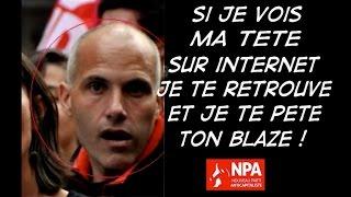 Besancenot fait frapper Vincent Lapierre par les nervis du NPA