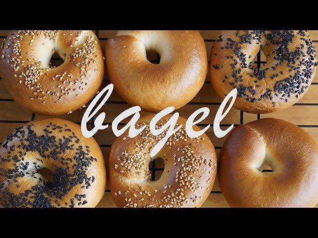 쫄깃쫄깃~ 베이글 만들기 : How to make bagel   [우미스베이킹:umi's bsking]